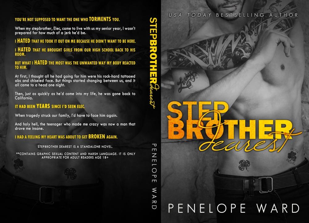 StepbrotherDearestBookCover6x9_BW_250-2-1